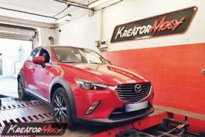 Chip tuning Mazda CX-3 2.0 Skyactiv-G 120 KM
