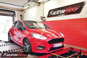 Chip tuning Ford Fiesta MK8 1.0 EcoBoost 140 KM