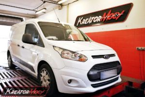 Chip tuning Ford Transit Connect 1.6 TDCI 95 KM