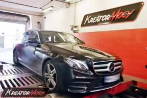 Chip tuning Mercededes W213 E400 3.5T V6 333 KM