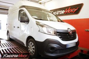 Chip tuning Renault Trafic III 1.6 DCI 120 KM