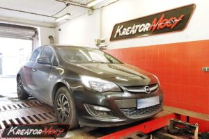 Chip tuning Opel Astra J 1.6 CDTI 110 KM