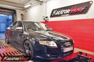 Chip tuning Audi A4 B7 3.0 TDI CR 204 KM