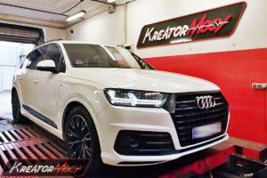 Tuning Audi Q7 4M II 3.0 TFSI 333 KM (CREC)