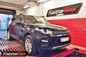 Chip tuning Land Rover Discovery Sport 2.0 Si4 240 KM