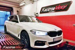 Strojenie BMW G30 520d 2.0d 190 KM