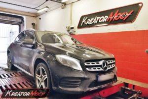 Tuning Mercedes X156 GLA 180 1.6T 122 KM