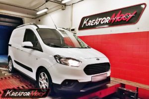 Chip tuning Ford Transit Courier 1.5 TDCI 100 KM EU6