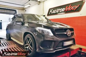 Chip tuning Mercedes C292 GLE 43 AMG 3.0T 390 KM