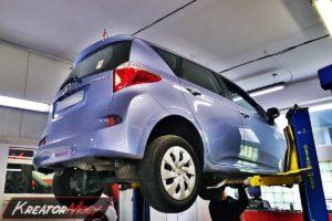 Serwis DPF Toyota Verso S 1.4 D4D 90 KM