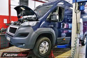 Problem DPF Peugeot Boxer II 2.0 BlueHDI 163 KM