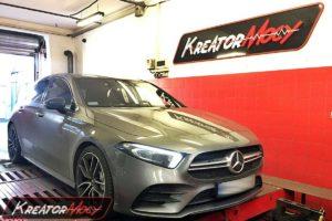 Tuning Mercedes W177 A35 AMG 2.0T 306 KM 225 kW