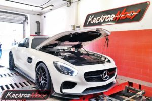 Tuning Mercedes AMG GT S 4.0T 510 KM 375 kW
