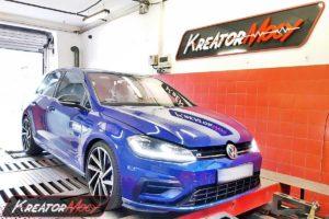 Remap VW Golf 7 R 2.0 TSI 310 KM 228 kW (DJJA)