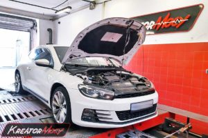 Tuning VW Scirocco 1.4 TSI 125 KM (CZCA)