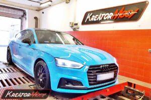 Remap Audi A5 45 TFSI 2.0 245 KM (DKNA)
