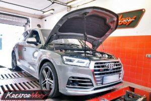 Remap Audi SQ5 3.0 TFSI 354 KM (CWGD)
