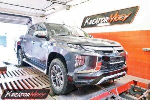 Tuning Mitsubishi L200 2.2 DID 150 KM 110 kW