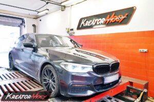 Remap BMW G30 540d 3.0d 320 KM 235 kW B57D30T0
