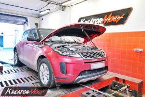Remap Range Rover Evoque D150 2.0d 150 KM 110 kW