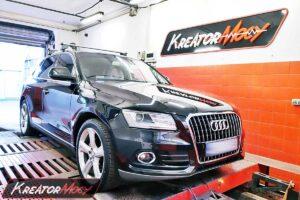 Remap Audi Q5 2.0 TDI 150 KM 110 kW (CJCD)