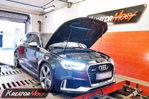 Remap Audi RS3 8V 2.5 TFSI 400 KM 294 kW (DNWA)
