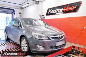Chiptuning Opel Astra J 1.6 Turbo 180 KM 132 kW