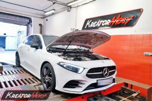 Chiptuning Mercedes W177 A 220 2.0T 190 KM 140 kW 4Matic