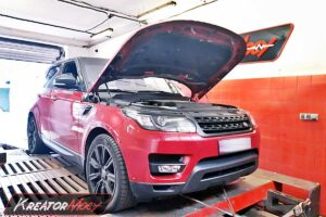 Chip tuning Range Rover 4.4 SDV8 340 KM 250 kW