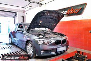 Chip tuning BMW 1 F20 116d 1.6d 116 KM 85 kW