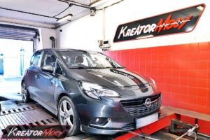 Chip tuning Opel Corsa E 1.4 Turbo 150 KM 110 kW